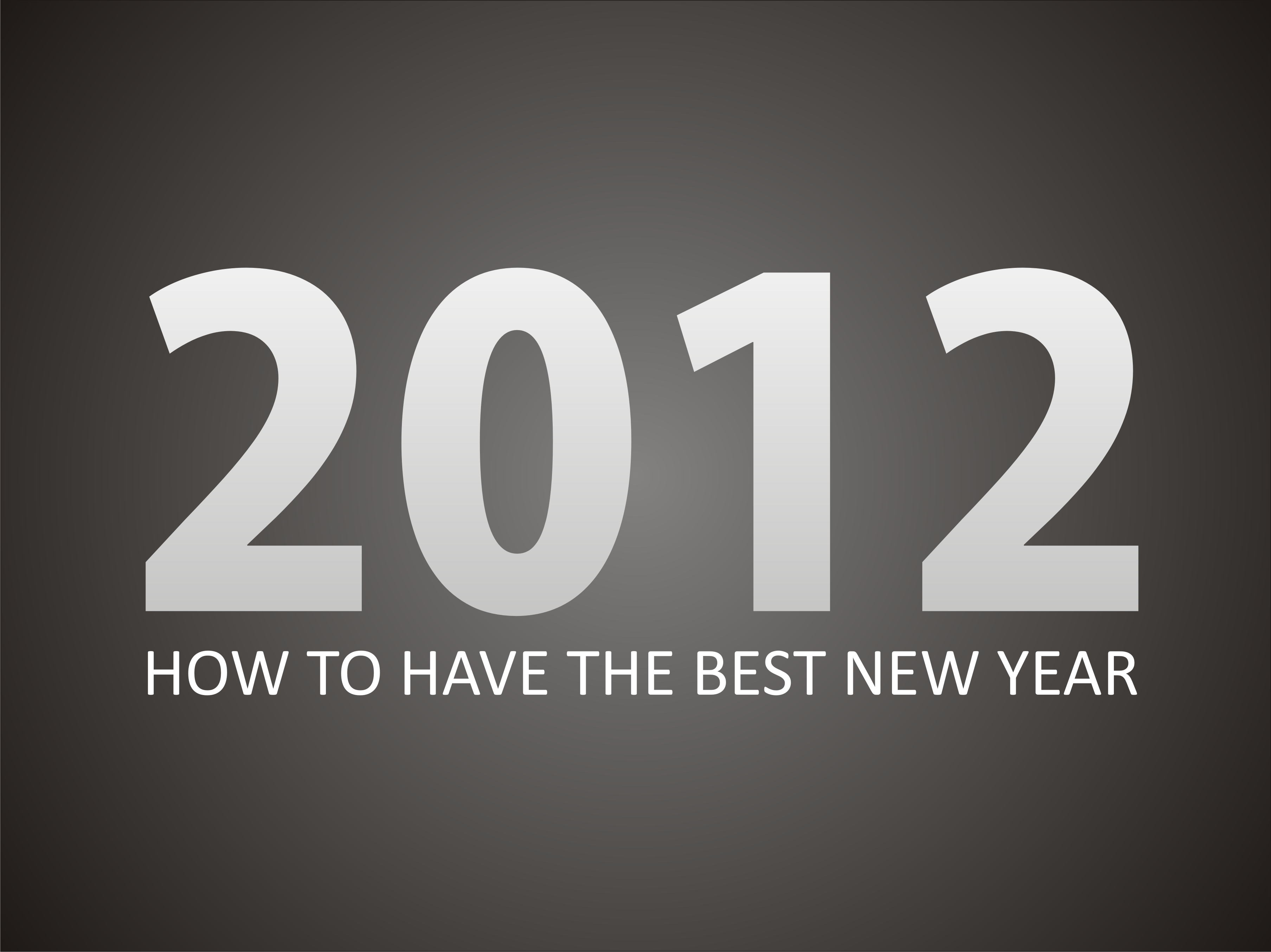 How To Have The Best New Year