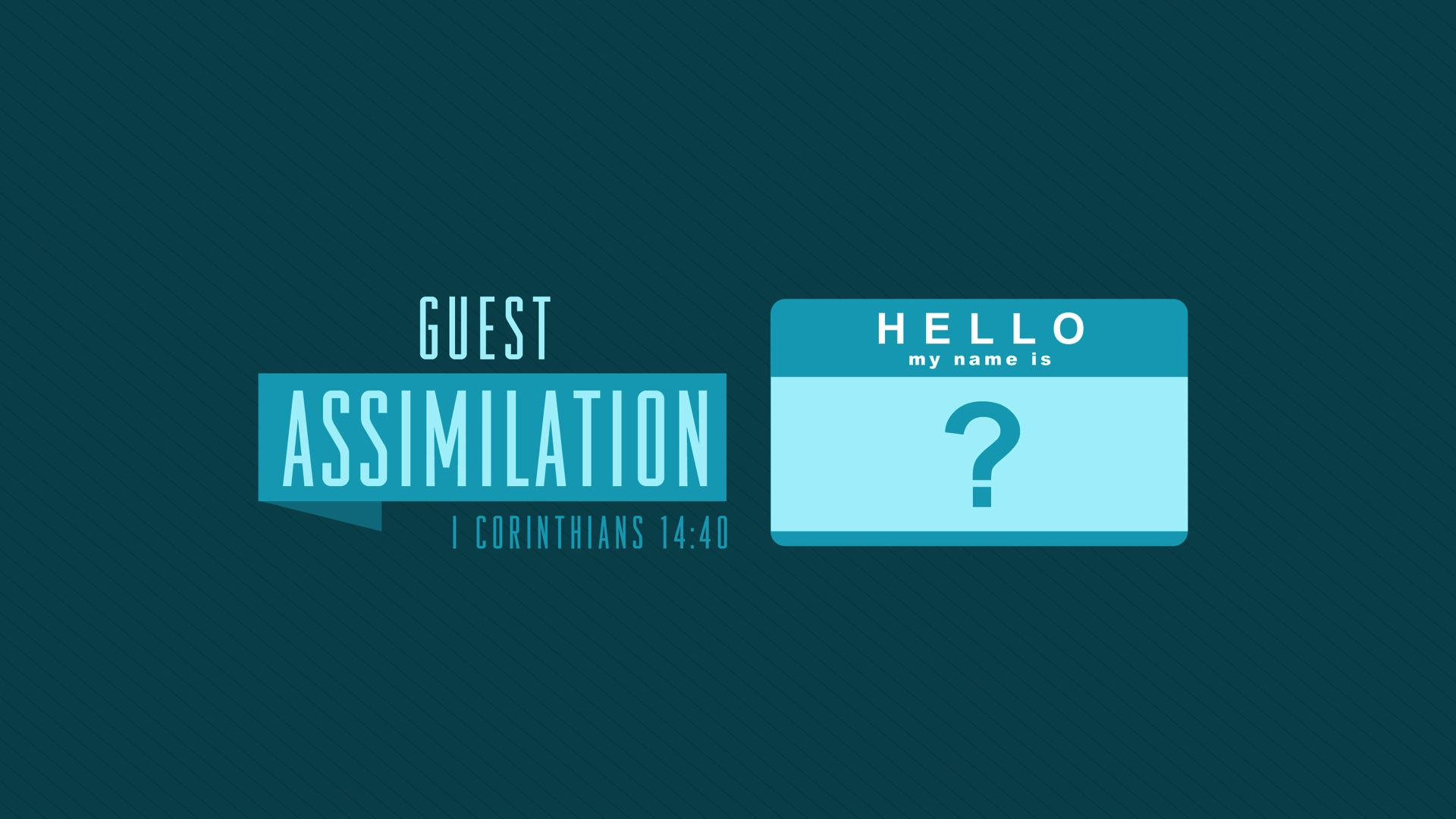 Guest Assimilation