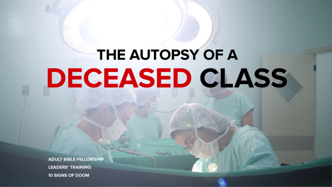 The Autopsy of a Deceased Class