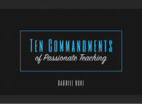 Ten Commandments of Passionate Teaching